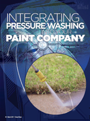 Integrating Pressure Washing into Your Paint Company