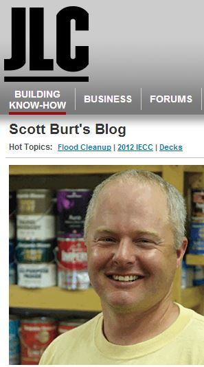 Scott Burt Now a Featured Author at JLC Online